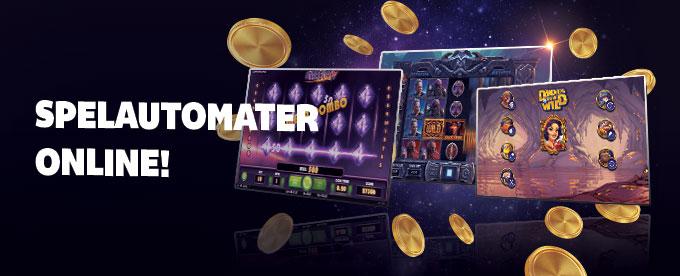 Spelautomater på nätet i svenska casinon
